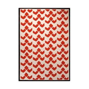 Koberec Esprit Bauhaus Red, 200x200 cm