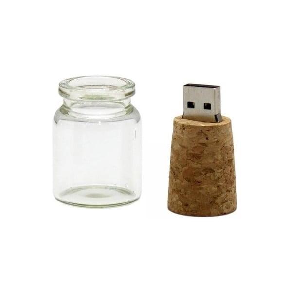 USB flash disk odkaz vo fľaši 8GB
