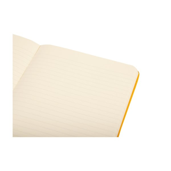 Zápisník Moleskine Orange Hard LG, linkovaný