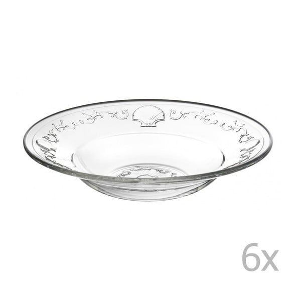 Sada 6 tanierov Versailles, 24 cm