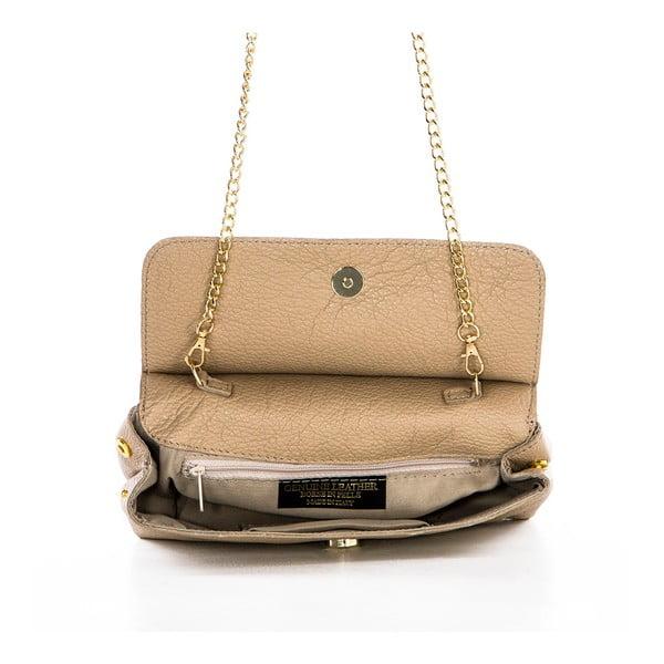 Kožená kabelka Envelope Taupe