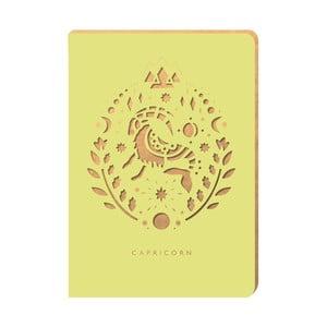 Linajkový zápisník Portico Designs Kozorožec, 160stránok