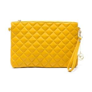 Kožená kabelka Flair, žltá