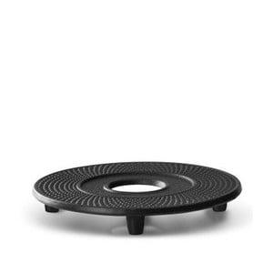 Čierna podložka pod kanvičku čaj Bredemeijer Jing, ⌀ 13,4 cm