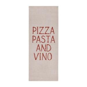 Béžový kuchynský behúň Zala Living Soho Pizza, 80×200cm