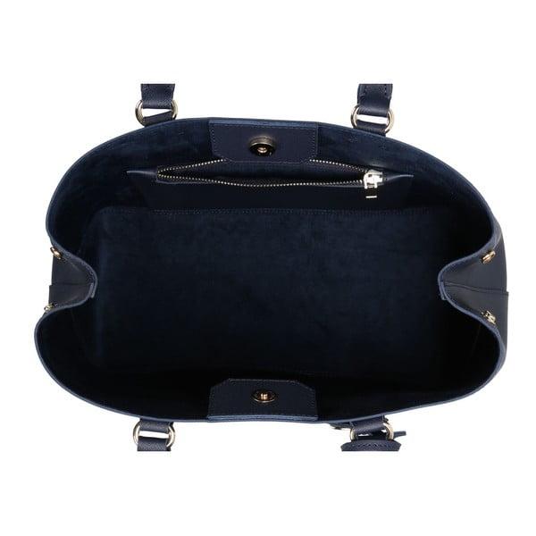 Tmavomodrá kabelka z eko kože Beverly Hills Polo Club Mona