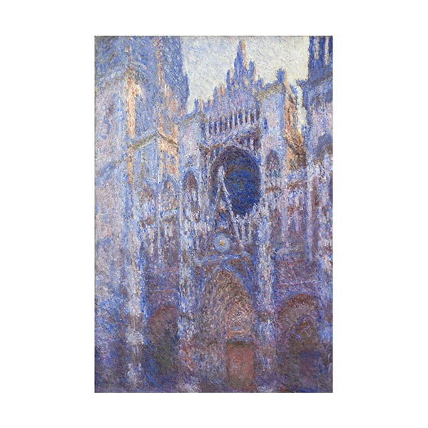 Obraz Claude Monet - Rouen Cathedral, 45x30 cm