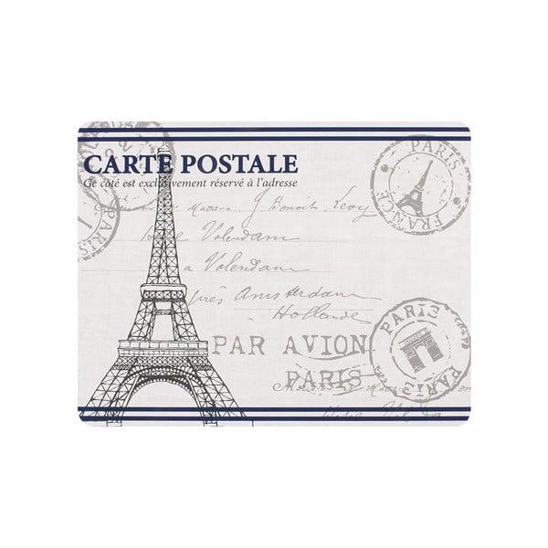Sada 4 prestieraní Paris Stamp
