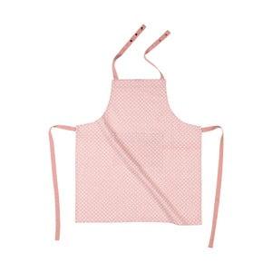 Ružová bavlnená zástera Tiseco Home Studio Dot
