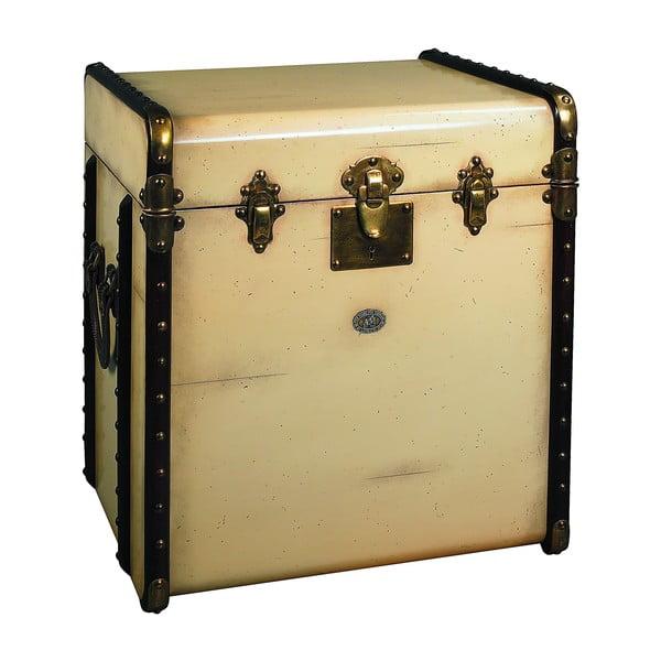 Stolík v tvare kufru Stateroom, béžový