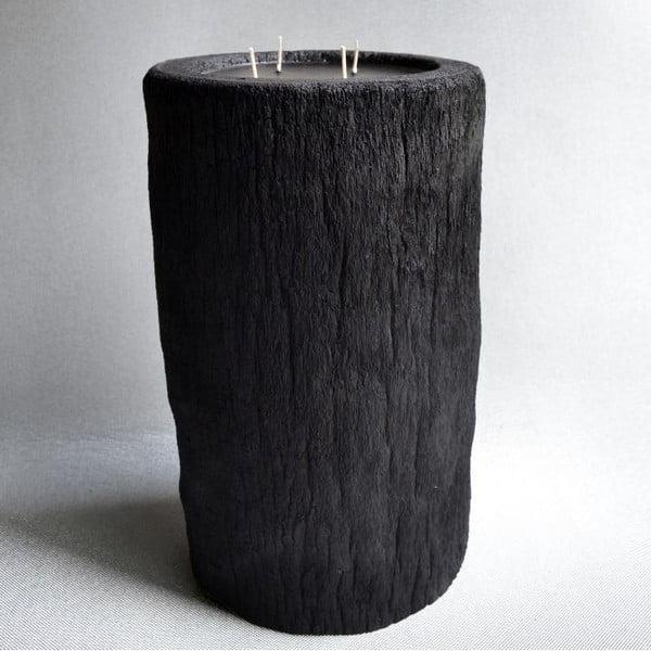 Palmová sviečka Legno Bruciato s vôňou exotického ovocia, 80 hodín horenia