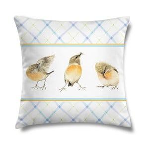 Vankúš Three Birds, 43x43 cm