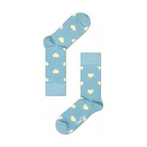 Ponožky Happy Socks Blue Hearts, veľ. 36-40