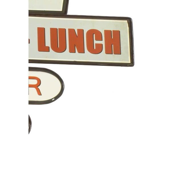 Nástenná ceduľa Reclame Restaurant