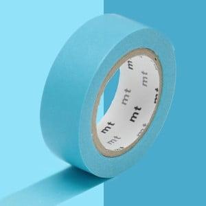 Žiarivomodrá washi páska MT Masking Tape Uni