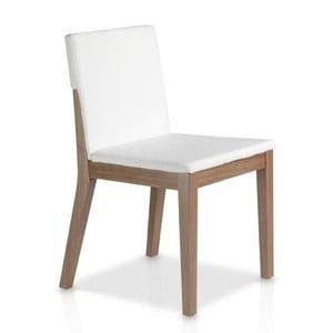 Biela jedálenská stolička Ángel Cerdá Inéz