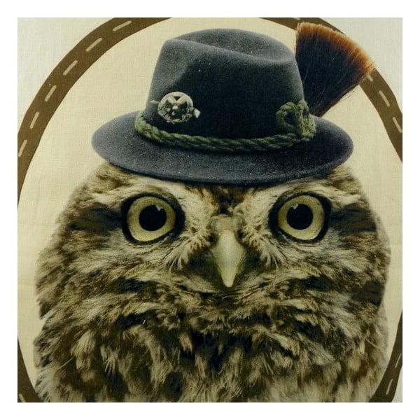 Vankúš Alm Owl 50x50 cm