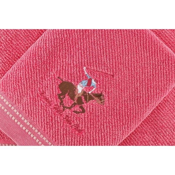 Sada 2 uterákov BHPC 50x100 + 80x150 cm, ružová