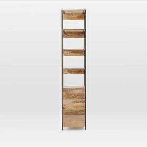 Knižnica z masívneho mangového dreva Massive Home Jenny, šírka 45 cm