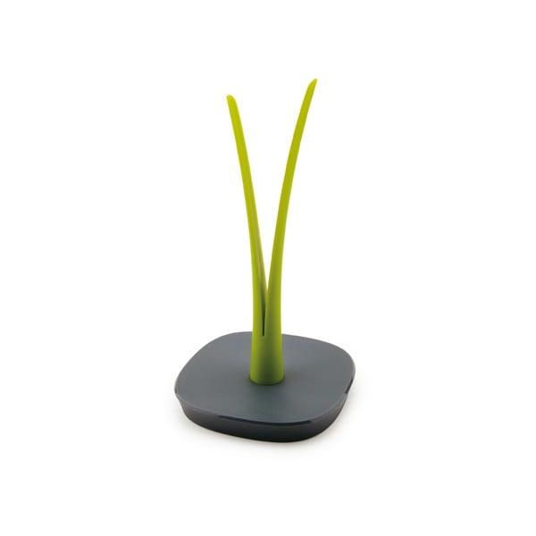 Zeleno-sivý stojan na papierové kuchynské obrúsky Vialli Design Livio