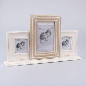 Fotorámik na 3 fotografie Vintage Home, 40x22,5 cm