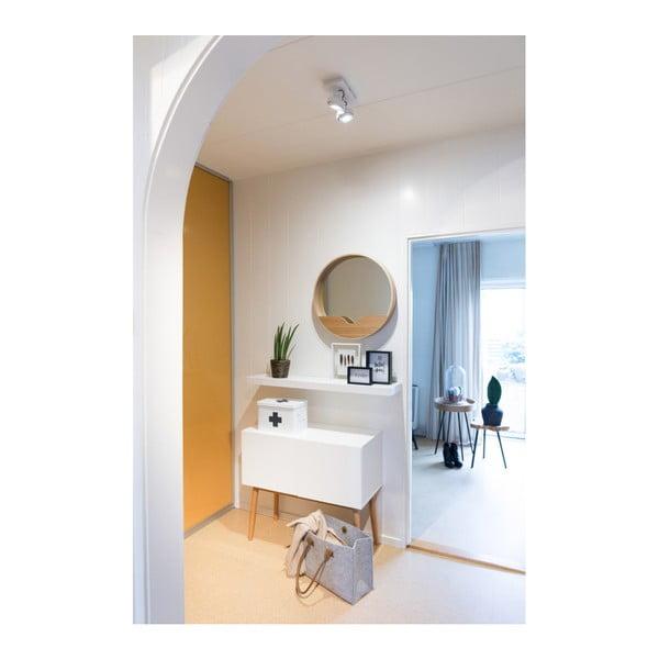 Zrkadlo s odkladacím priestorom Zuiver Round Wall, ⌀ 60 cm
