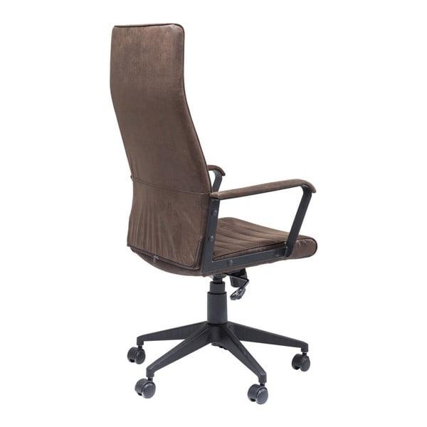 Hnedá kancelárska stolička Kare Design High Labora