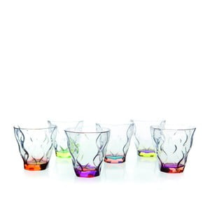 Sada 6 pohárov RCR Cristalleria Italiana Ilaria