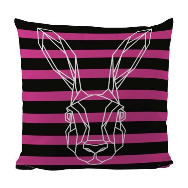 Vankúš Bunny In Stripes, 50x50 cm