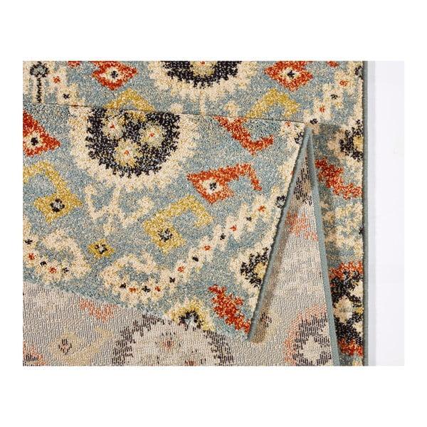 Modrý koberec Mint Rugs Diamond Ornament, 133 x 195 cm
