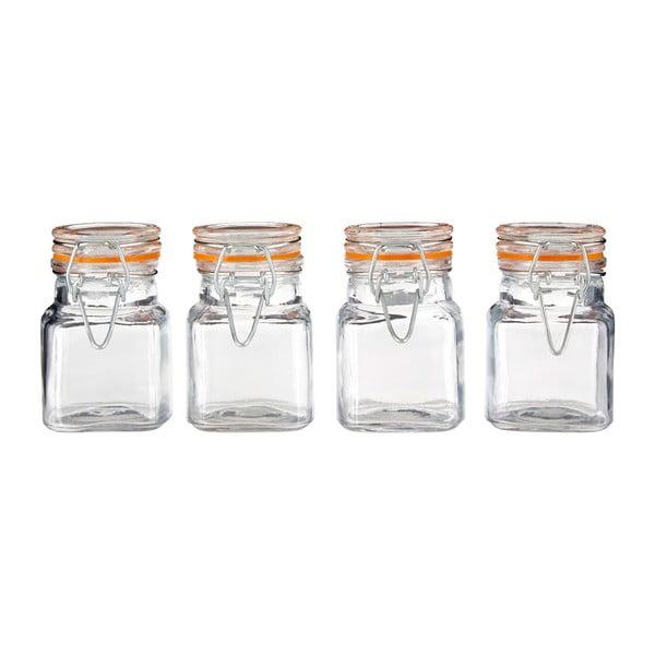 Sada 4 sklenených koreničiek Premier Housewares, 90ml
