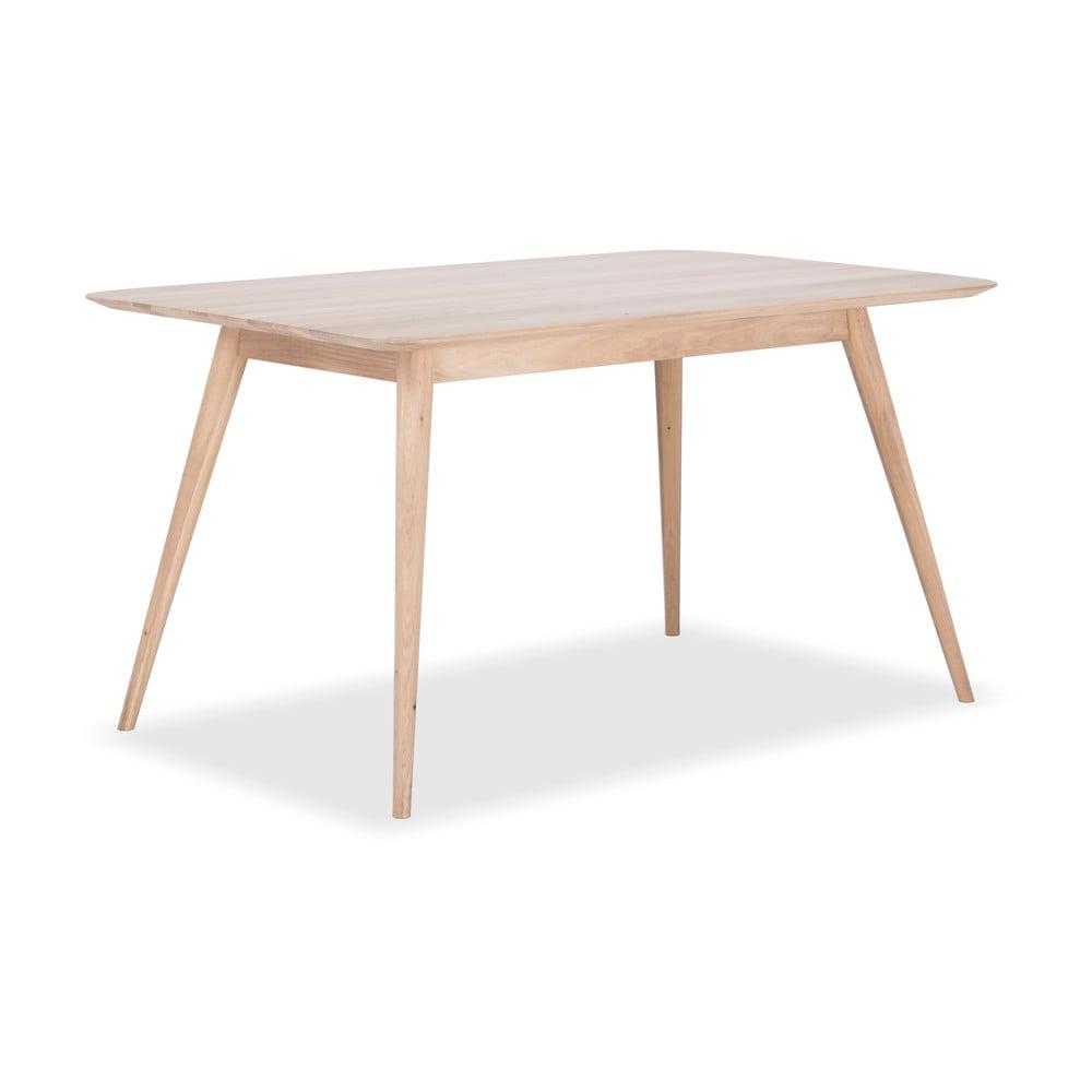 Jedálenský stôl z dubového dreva Gazzda Stafa, 140 x 90 cm