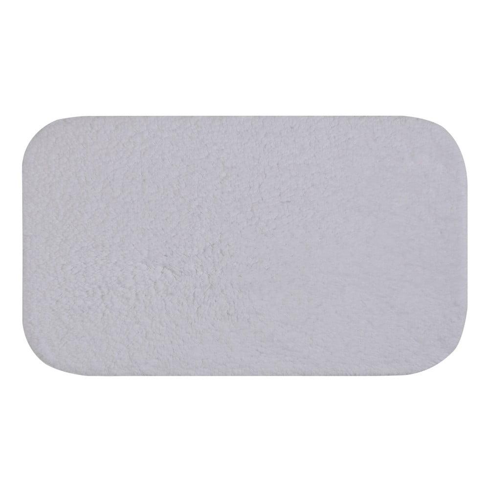 Biela predložka do kúpeľne Confetti Bathmats Organic 1500, 50 × 85 cm