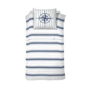 Bavlnené posteľné obliečky Cinderella Compass Jeans, 200 x 140 cm