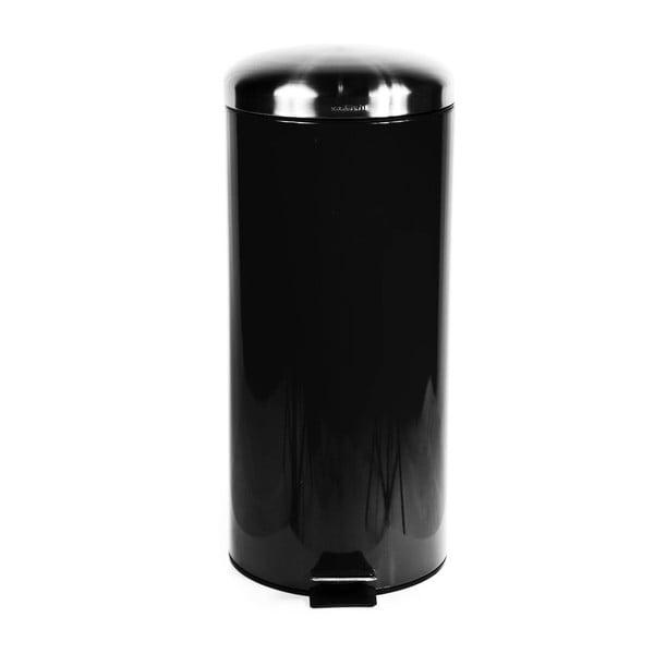 Odpadkový kôš Sabichi Pedal Black, 30 l
