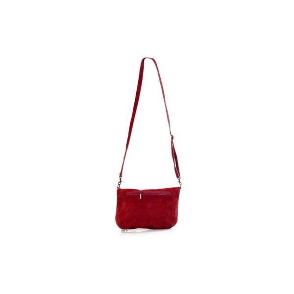 Kožená kabelka Juliette, červená