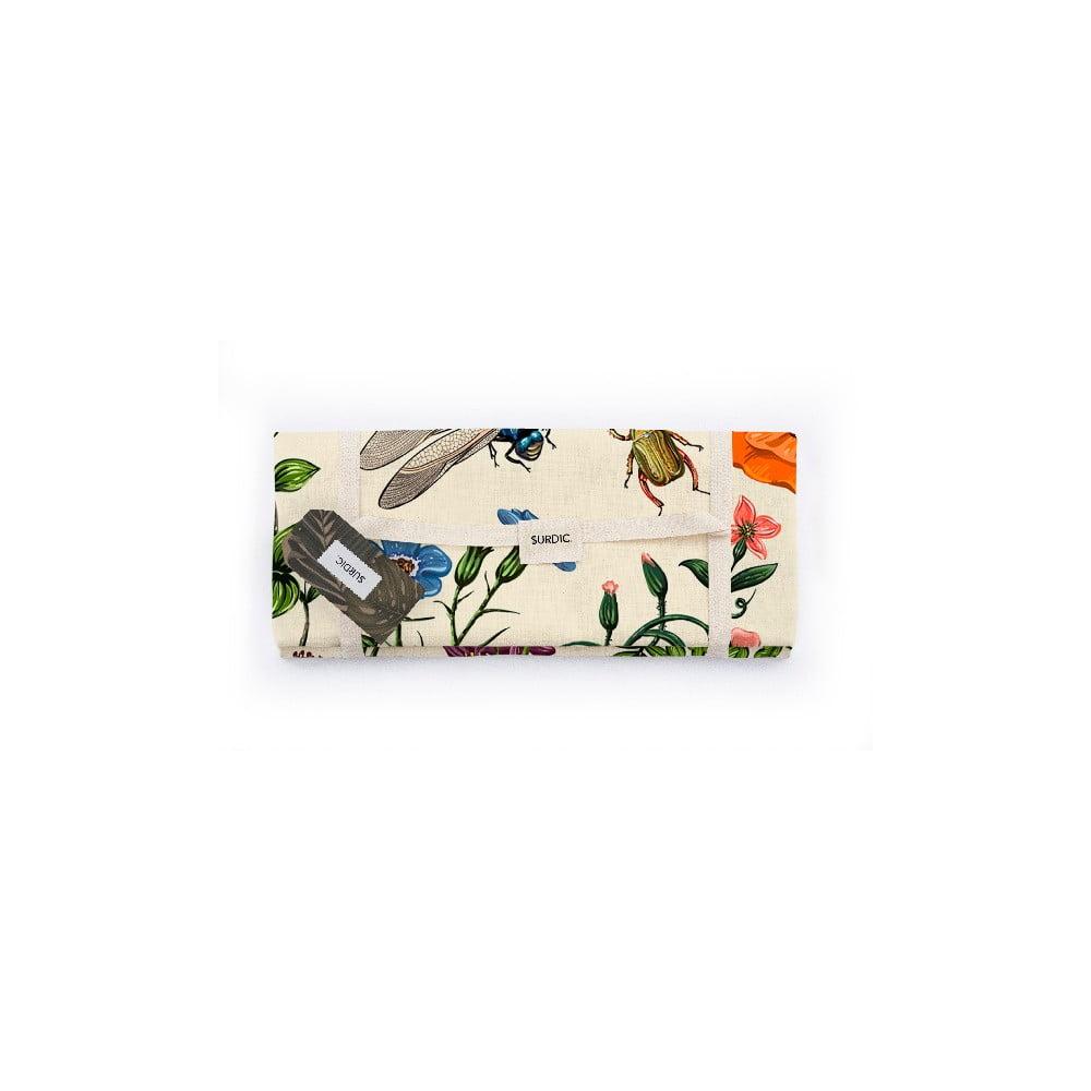 Piknik deka Surdic Manta Picnic Tierra Bella s prírodným motívom, 140 x 170 cm