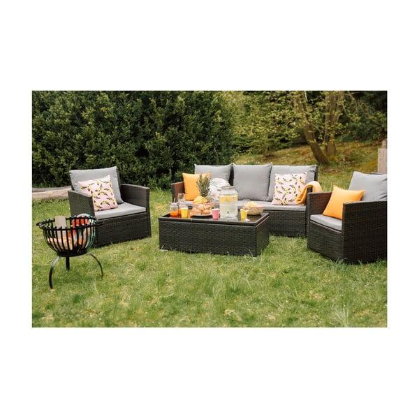 Set záhradného nábytku z umelého ratanu Timpana Dion