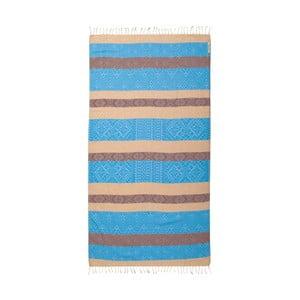 Hammam osuška z bavlnených a bambusových vlákien Begonville Sunrise Loin, 180×95 cm