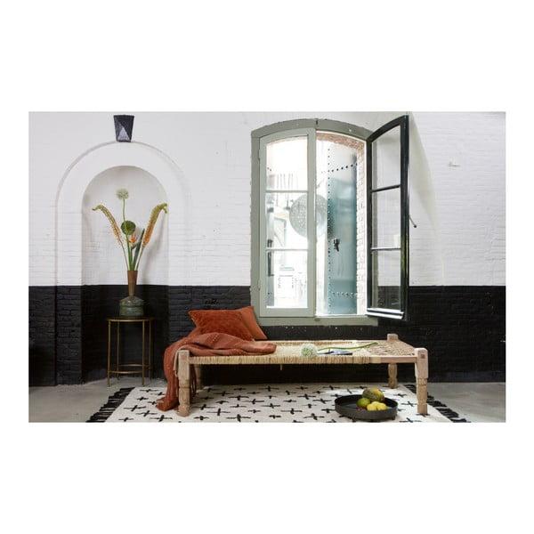 Béžový bavlnený koberec De Eekhoorn More, 170×240cm