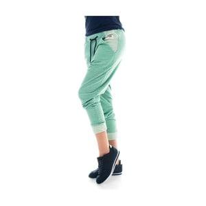 Zelené bavlnené tepláky Lull Loungewear Yonkers, veľ.S