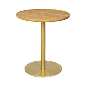 Odkladací stolík s doskou z dubového dreva Askala Softy