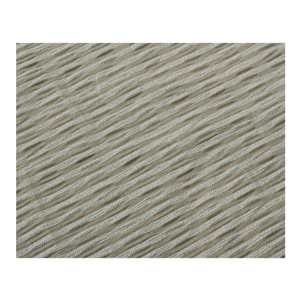 Hnedé obliečky z bavlny na dvojlôžko Sleeptime, 240x220 cm