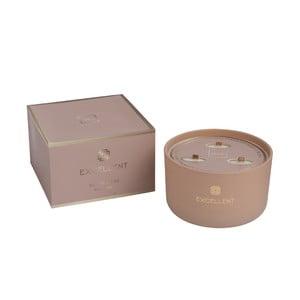 Vonná sviečka J-Line Golden Honey, 50 hodín