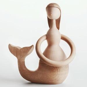 Dekorácia z bukového dreva Architectmade Mermaid