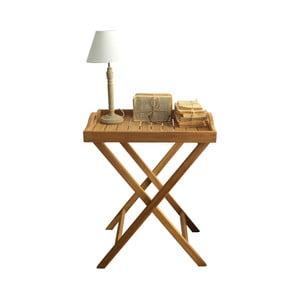 Odkladací stolík z teakového dreva Orchidea Milano Batavia