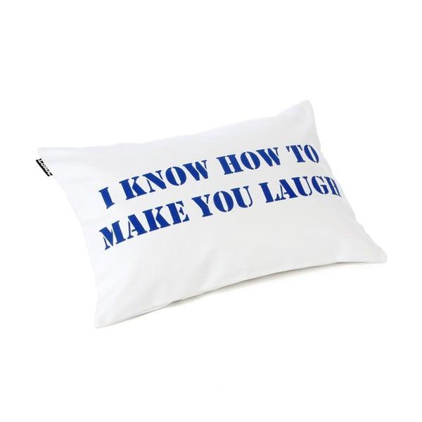 Vankúš Lona 60x40 cm, I Know How To Make You Laugh