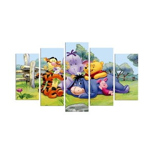 5-dielny obraz Winnie the Pooh
