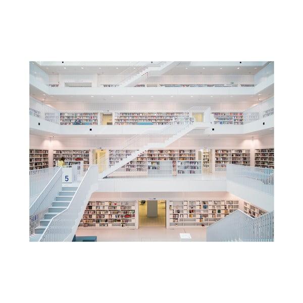 Veľkoformátová tapeta V Knižnici, 315x232 cm