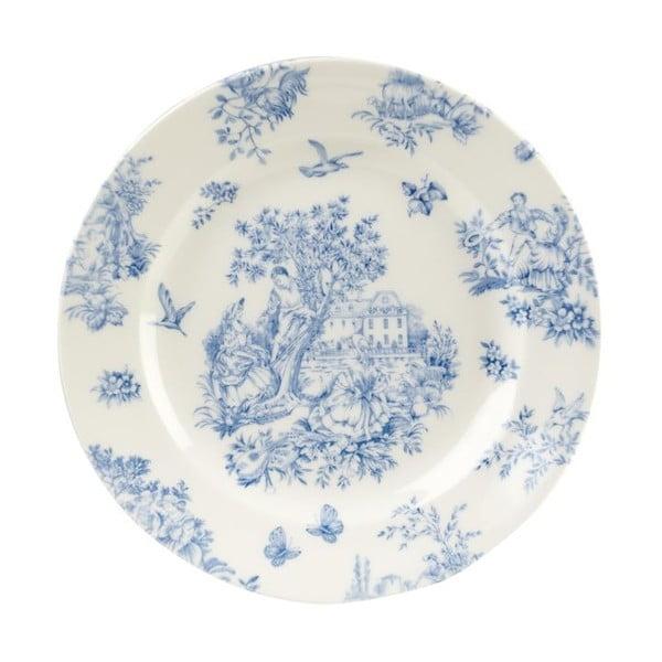 Tanier Churchill China Toile Blue de Jardin, 20 cm